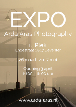 Expositie Arda Aras Photography - Deventer Plek