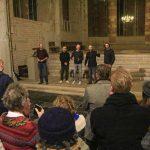 Publiek expositie Rauw Licht Lebuinuskerk Deventer